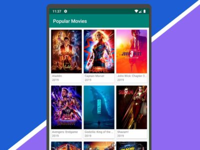 Android – Movie App | Using MVVM, Paging Library, RxJava and Retrofit